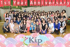 Kip Dance Studio 1st Anniversary Party, June 27, 2014