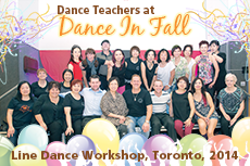 Photos of Dance In Fall Line Dance Workshop, Oct 18, 2014