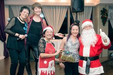 Photos of the Christmas Party with Isa and Susanne老師, 2014