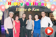 Eliane & Ken Birthday