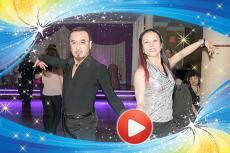 Ballroom snapshots of Kip Lo & Abby Mina